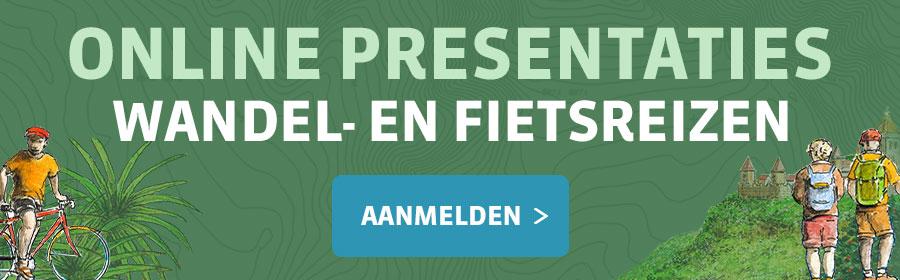 Online Presentaties Wandel & Fietsreizen