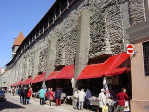 Tallinn - stadsmuren