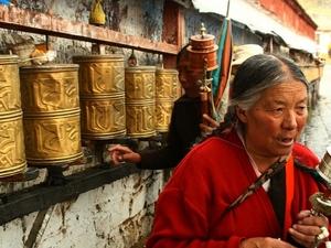 25 Gebedsmolens Tibet