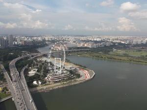 Singapore - Uitzicht Stad