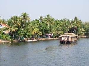 Rijstboot Backwatertocht