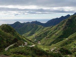 Agana-gebergte Tenerife