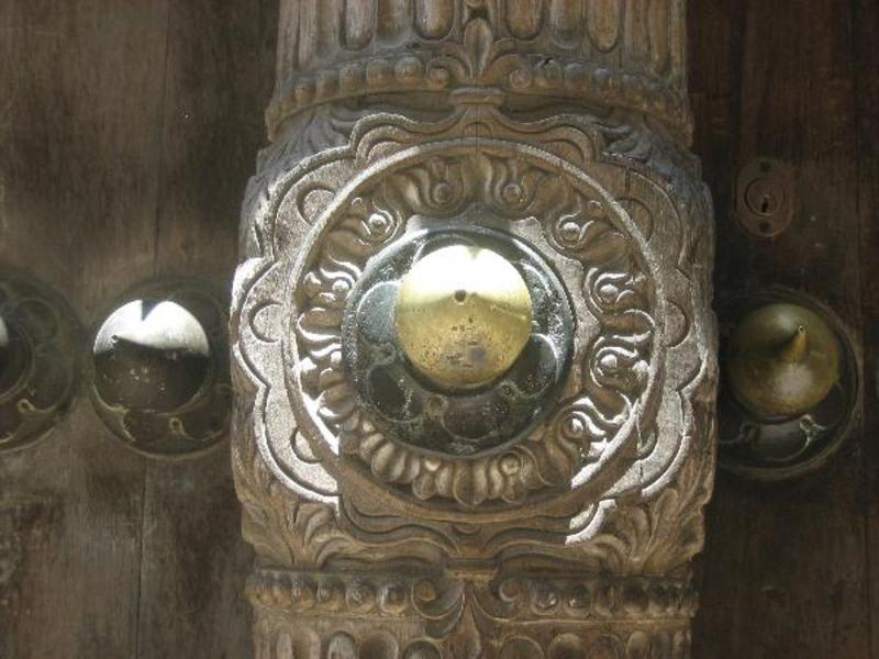 Bijzondere deuren in Stone Town