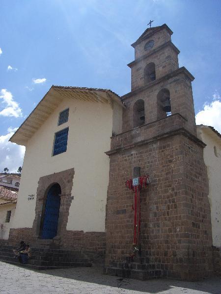 De kerk van San Blas
