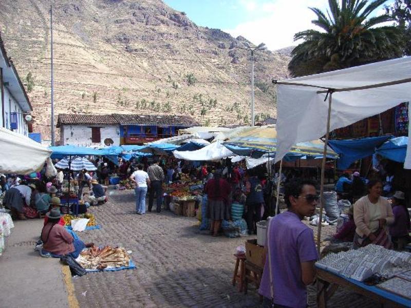 De markt van Pisaq