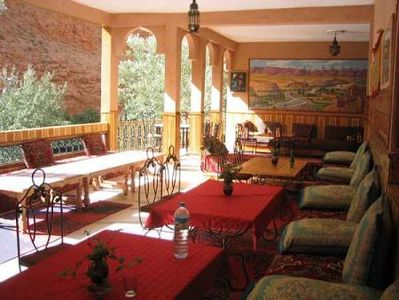 Marokko djoser hotel restaurant ontvangst