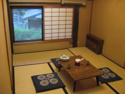 Koyasan tempel overnachting kamer Shojoshin-in Japan Djoser