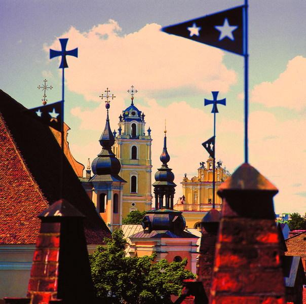 Vilnius - kerktorens