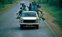 Oeganda - taxi!