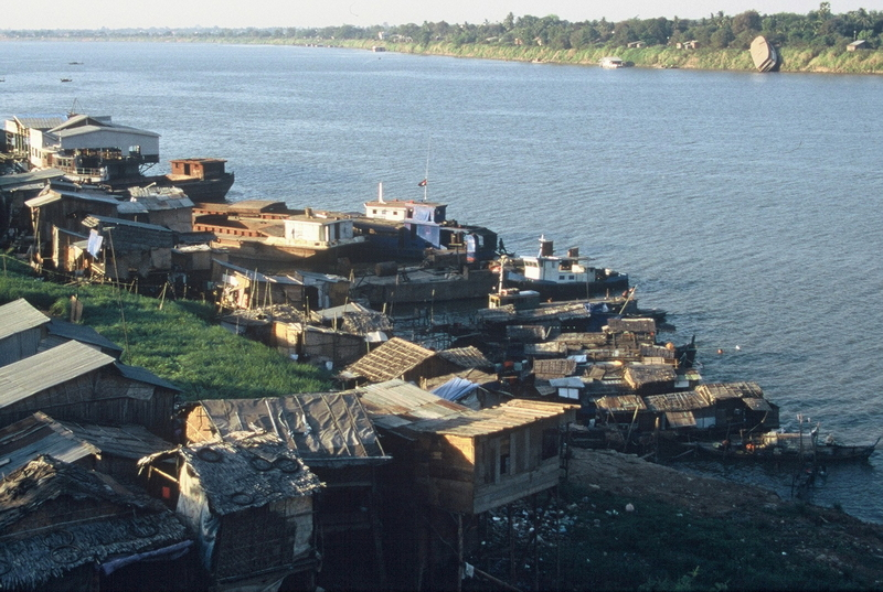 Cambodja - floating village