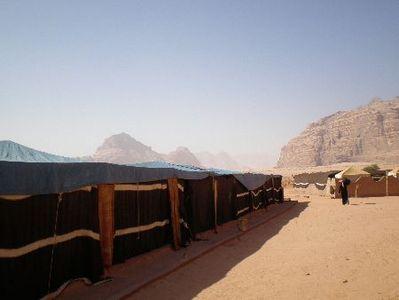 Jordanie tentenkamp Djoser