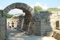 Griekenland Olympia fakkel ontsteking Djoser