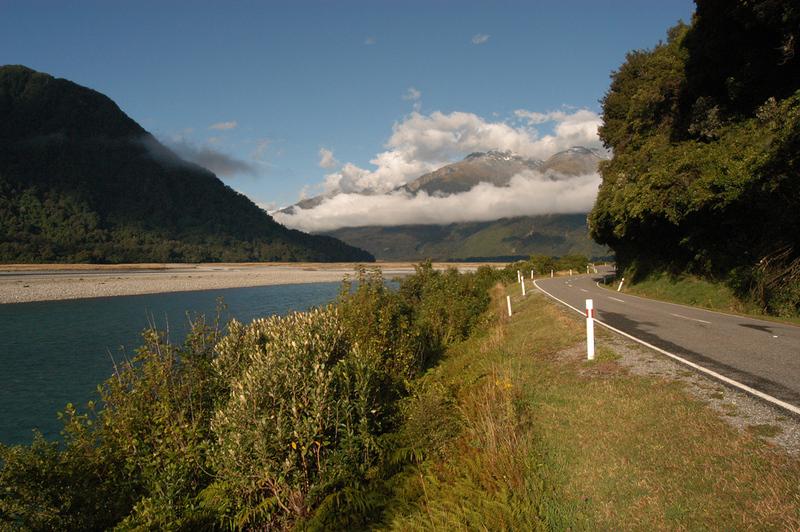Waitangi - onderweg