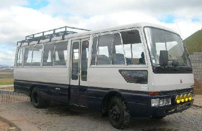 Mauritius bus vervoer Djoser