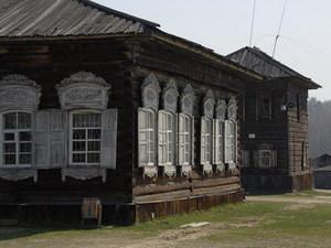 Openlucht museum Irkutsk I