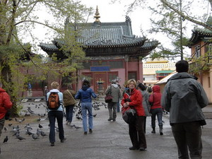 Gandan klooster ingang