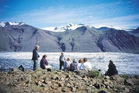 Ijsland ijskap Vatnajökull gletsjer Djoser