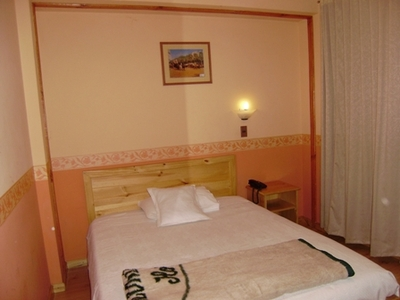 Peru en Bolivia hotel accommodatie overnachting Djoser