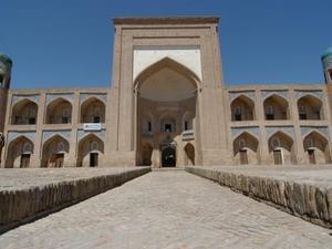 Khiva binnenplaats moskee
