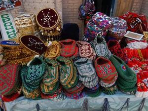 Khiva kleurrijke markt
