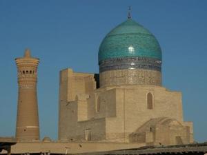 Buchara minaret en moskee