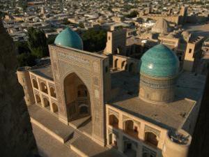 Buchara uitzicht vanaf minaret