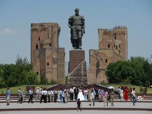 Timur lenk in Shachrisabz