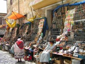 La Paz - heksenmarkt