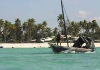 zanzibar tanzania djoser vissersboot