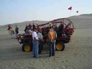 Buggy rijden in de woestijn