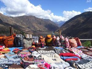 De heilige vallei bij Cusco