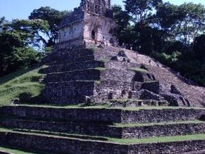 ruïnes van Palenque