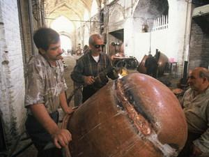 Iran - Kerman - koperslager