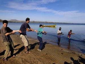 Lake Vicoria – Netten binnen halen