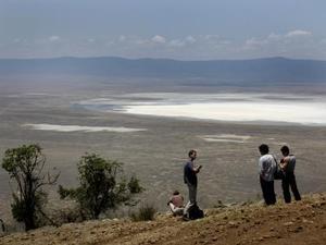 Ngorongoro krater - Uitzicht