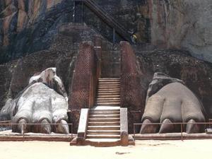 Toegangspoort Sigirya