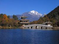 Jade Draak berg Uitzicht Lijiang China Groepsreis Junior