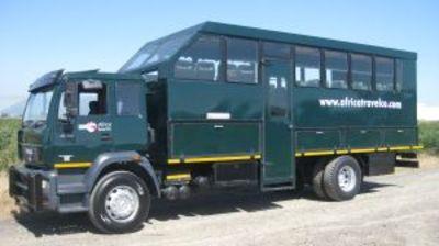 Zuid-afrika busvervoer Djoser