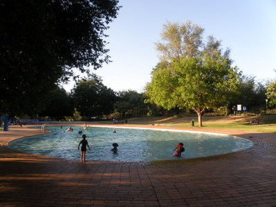 Zuid-Afrika accommodatie overnachting zwembad Djoser