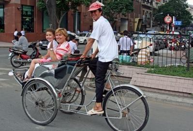 Vietnam Laos en Cambodja straatbeeld Djoser