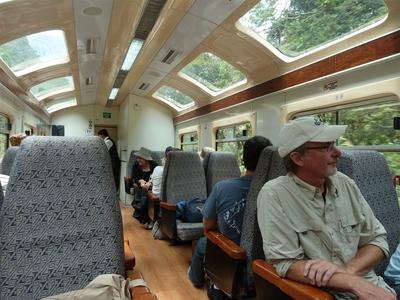 Peru Ecuador Galapagos rondreis trein vervoersmiddel Djoser