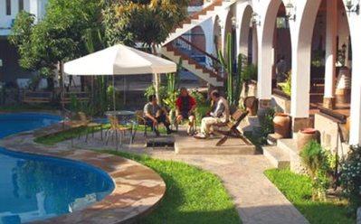 Peru Ecuador Galapagos hotel accommodatie overnachting Djoser
