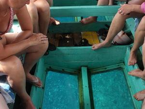 Lombok Glazen Boot
