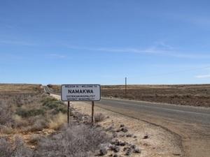 Namakwa - weg