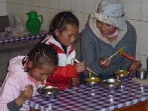 Eten in Tibet