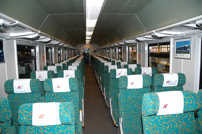 Trein Oost Europa coupe