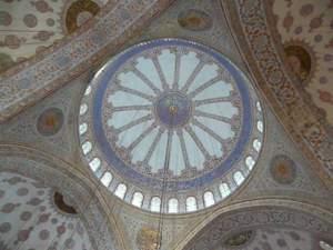 Blauwe Moskee Koepel