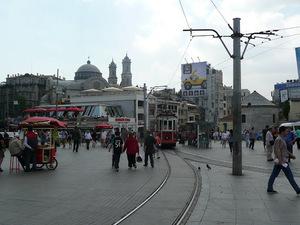 Taksim plein
