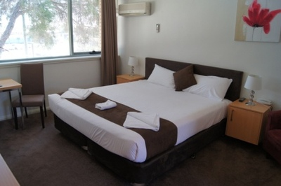 Australie hotel accommodatie kamer Djoser
