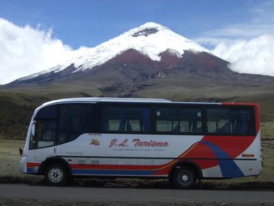 Ecuador busvervoer Djoser
